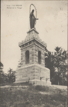 La Bresse, Statue de la Vierge