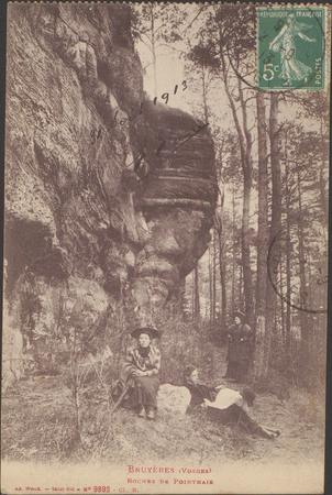 Bruyères (Vosges), Roches de Ponthaie