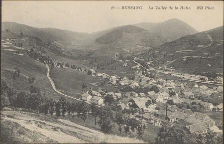 Bussang, La Vallée de la Hutte
