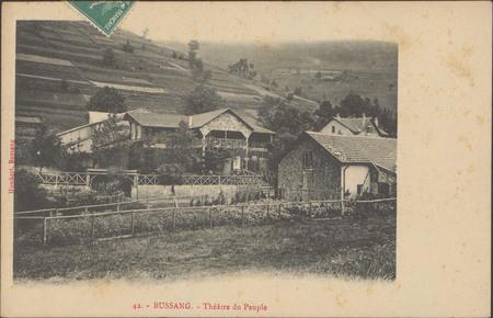 Bussang, Théâtre du peuple