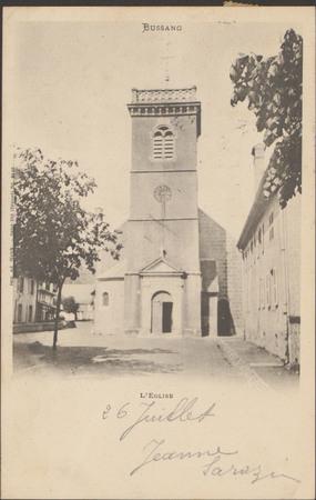 Bussang, L'Église