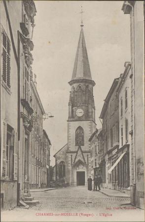 Charmes-sur-Moselle (Vosges), L'Église