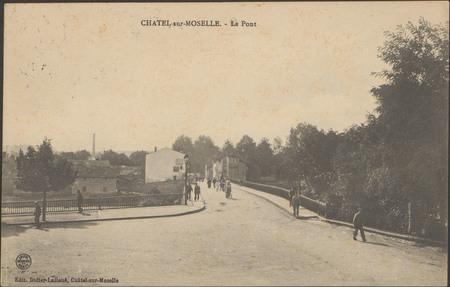 Châtel-sur-Moselle, Le Pont