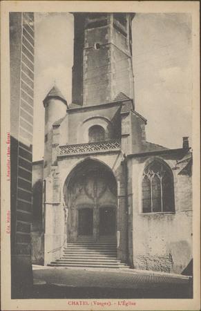 Châtel (Vosges), L'Église