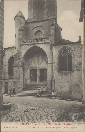 Châtel (Vosges), L'Entrée de l'Église