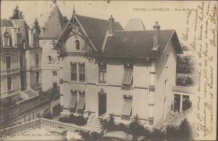 Châtel-s.-Moselle, Rue du Saulcy