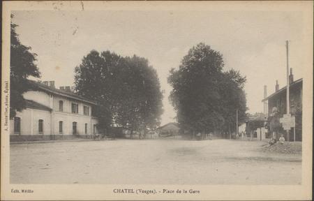 Châtel (Vosges), Place de la Gare