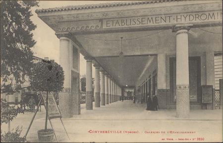 Contrexéville (Vosges), Galerie de l'Etablissement