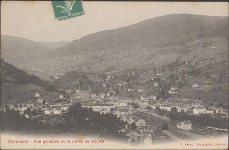 Cornimont, Vue générale et la vallée de Xoulce