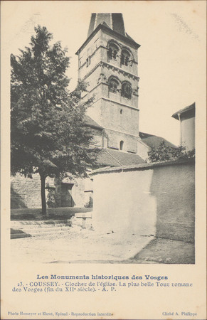 Coussey, Clocher de l'Église […]
