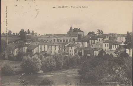 Darney, Vue sur la Saône