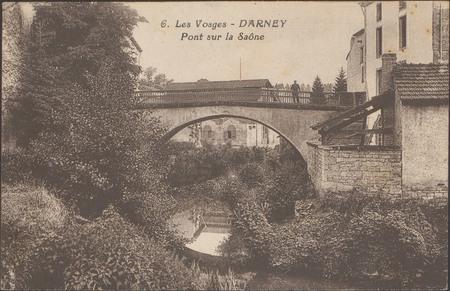 Darney, Pont sur la Saône