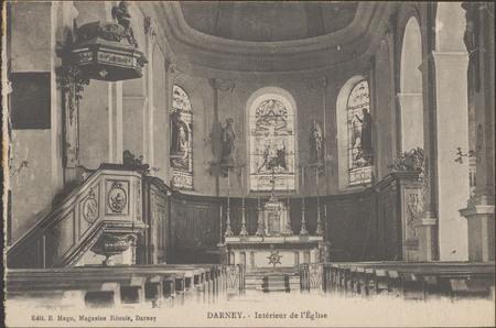 Darney Intérieur de l'Église