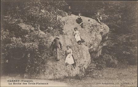 Darney (Vosges), La Roche des Trois-Plateaux