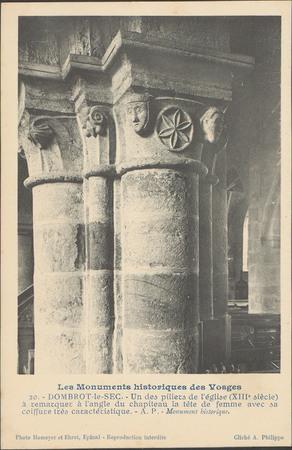 Dombrot-le-Sec, Un des piliers de l'église […]