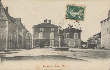 Dompaire, Place d'Armes