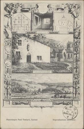 [Gravures de la maison de Jeanne d'Arc]