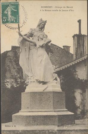 Domrémy, Groupe de Mercié à la maison natale de Jeanne d'Arc
