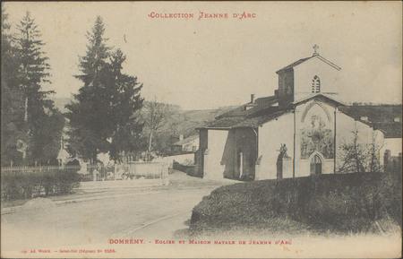 Domrémy, Église et maison natale de Jeanne d'Arc