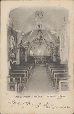 Basilique de Domrémy, Intérieur de l'Église