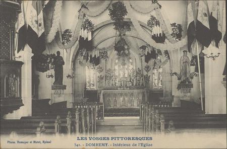 Domrémy, Intérieur de l'Église