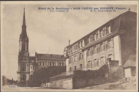 Hôtel de la Basilique, Bois Chenu par Coussey (Vosges)