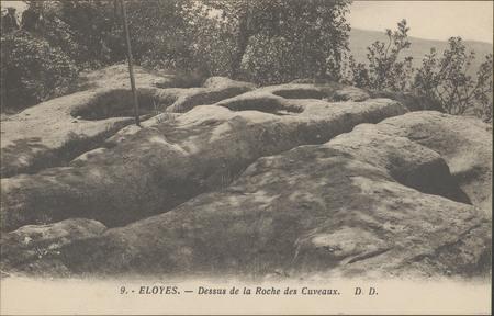 Eloyes, Dessus de la Roche des Cuveaux