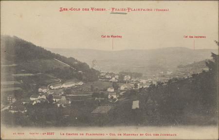 Fraize-Plainfaing (Vosges), Le Centre de Mandray et Col des Journaux