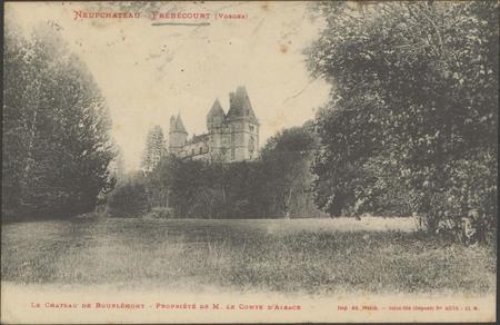 NeufChâteau - Frébécourt (Vosges), Le Château de Bourlémont […]