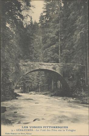 Gérardmer, le Pont des Fées sur la Vologne