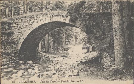 Gérardmer, Saut des Cuves, Pont des Fées