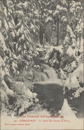 Gérardmer, Le Saut des Cuves en hiver