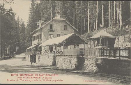 Hôtel-Restaurant du Saut-des-Cuves près Gérardmer (Vosges), Station du tra…