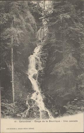 Gérardmer, Gorge de la Bourrique, Une Cascade