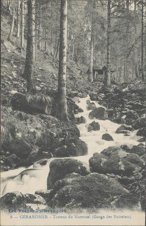 Gérardmer, Torrent de Narrouel (Gorge des Roitelets)