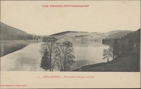 Gérardmer, Vue panoramique du lac