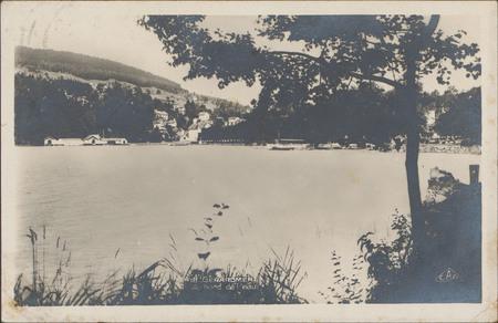 Gérardmer, Au bord de l'eau
