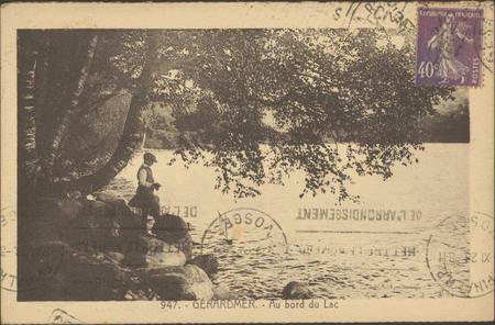 Gérardmer, Au bord du lac