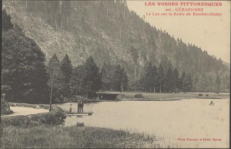 Gérardmer, Le Lac sur la route de Ramberchamp