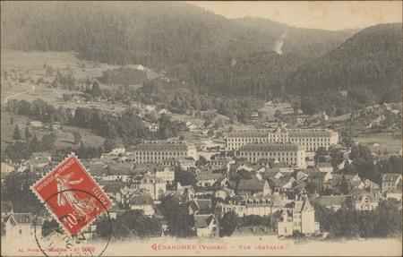 Gérardmer (Vosges), Vue générale