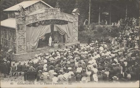 Gérardmer, Le Théâtre populaire