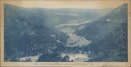 Le Hohneck (altitude : 1366 m), La Vallée des lacs