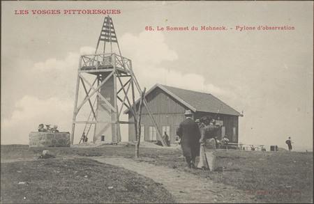 Le Sommet du Hohneck, Pylone d'observation