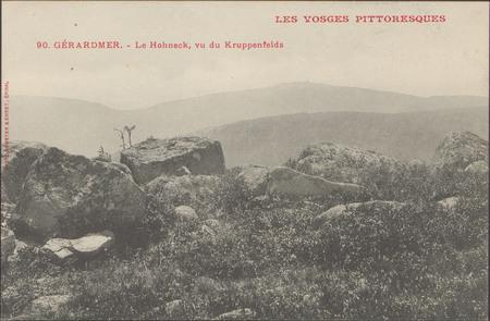 Gérardmer, Le Hohneck, vu du Kruppenfelds