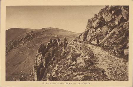 La Schlucht (Alt. 1139 m.), Le Hohneck