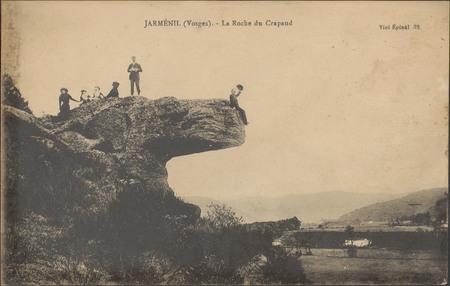 Jarménil (Vosges), La Roche du Crapaud