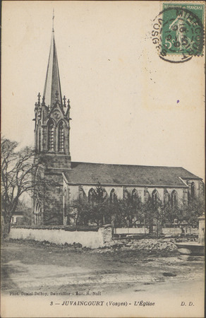 Juvaincourt (Vosges), L'Église