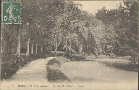 Martigny-les-Bains, Le Par cet l'étang