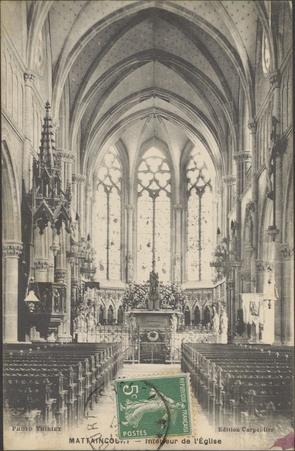 Mattaincourt, Intérieur de l'Église