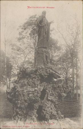 Mattaincourt (Vosges), Statue de Pierre Fourier